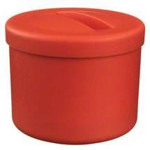 Produktbild Prothesenbehälter Lachsrot