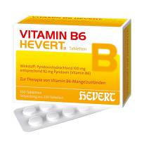 Produktbild Vitamin B6 Hevert Tabletten