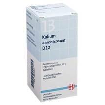 Produktbild Biochemie DHU 13 Kalium arsenicosum D 12 Tabletten