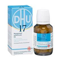 Biochemie DHU 17 Manganum sulfuricum D 6 Tabletten