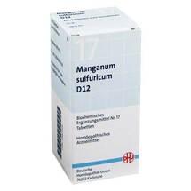 Biochemie DHU 17 Manganum sulfuricum D 12 Tabletten