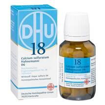 Produktbild Biochemie DHU 18 Calcium sulfuratum D 6 Tabletten