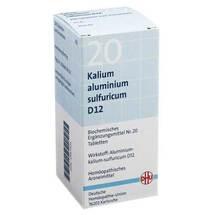 Biochemie DHU 20 Kalium aluminium sulfuratum D 12 Tabletten