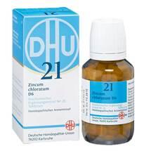 Produktbild Biochemie DHU 21 Zincum chloratum D 6 Tabletten