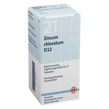 Biochemie DHU 21 Zincum chloratum D 12 Tabletten