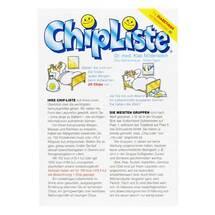 Produktbild Chipliste Leporello