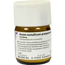 Produktbild Aurum metallicum Präparat D 12 Trituration
