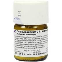 Corallium rubrum D 6 / Stibiu