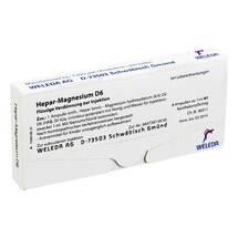 Produktbild Hepar-Magnesium D 6 Ampullen