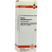 Produktbild Acidum hydrochloricum D 4 Dilution