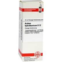 Produktbild Acidum hydrofluoricum D 12 Dilution