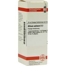 Produktbild Allium sativum D 2 Dilution