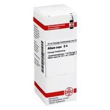 Produktbild Allium cepa D 4 Dilution