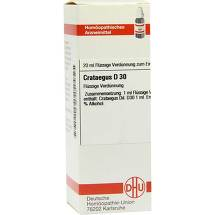 Produktbild Crataegus D 30 Dilution