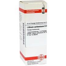 Lithium carbonicum D 6 Dilution