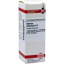 Natrium chloratum D 2 Dilution