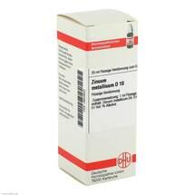 Produktbild Zincum metallicum D 10 Dilution