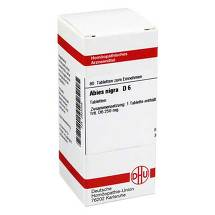 Produktbild Abies nigra D 6 Tabletten
