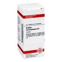 Produktbild Acidum sarcolactic D 6 Tabletten