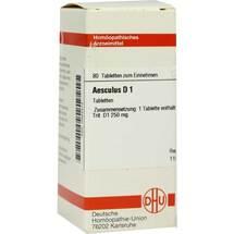 Produktbild Aesculus D 1 Tabletten