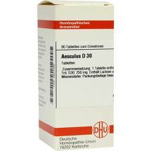 Produktbild Aesculus D 30 Tabletten