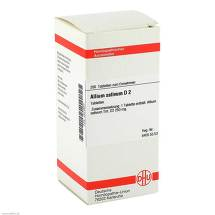 Produktbild Allium sativum D 2 Tabletten