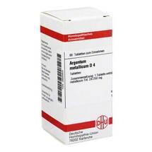 Produktbild Argentum metallicum D 4 Tabletten