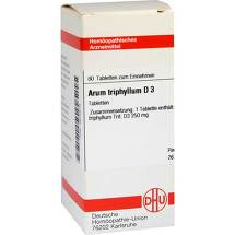 Produktbild Arum triphyllum D 3 Tabletten