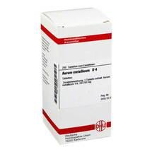 Produktbild Aurum metallicum D 4 Tabletten
