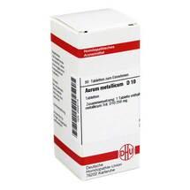 Produktbild Aurum metallicum D 10 Tabletten