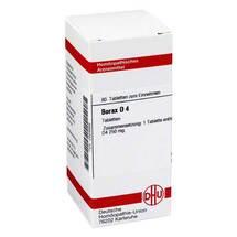 Borax D 4 Tabletten