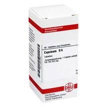 Produktbild Capsicum D 6 Tabletten