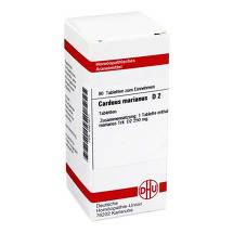 Produktbild Carduus marianus D 2 Tabletten