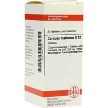Carduus marianus D 12 Tabletten