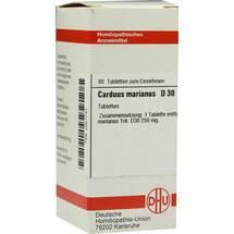 Produktbild Carduus marianus D 30 Tabletten