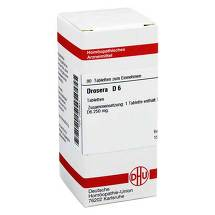 Produktbild Drosera D 6 Tabletten