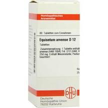 Produktbild Equisetum arvense D 12 Tabletten