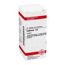 Produktbild Euphrasia D 6 Tabletten