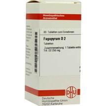 Produktbild Fagopyrum D 2 Tabletten