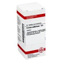 Produktbild Ferrum sulfuricum D 6 Tabletten