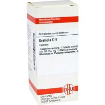 Produktbild Gratiola D 6 Tabletten