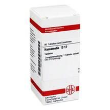 Produktbild Hamamelis D 12 Tabletten