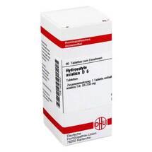 Produktbild Hydrocotyle asiatica D 6 Tabletten