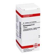 Produktbild Hyoscyamus D 12 Tabletten