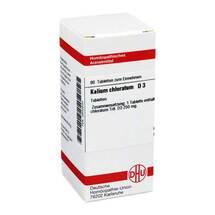 Kalium chloratum D 3 Tabletten