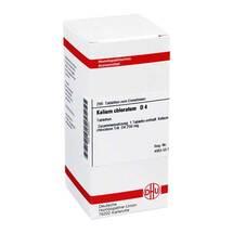 Produktbild Kalium chloratum D 4 Tabletten