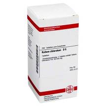 Produktbild Kalium chloratum D 6 Tabletten
