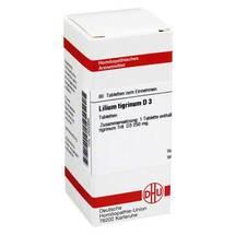Produktbild Lilium tigrinum D 3 Tabletten