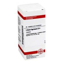 Lilium tigrinum D 4 Tabletten