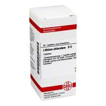 Produktbild Lithium chloratum D 6 Tabletten